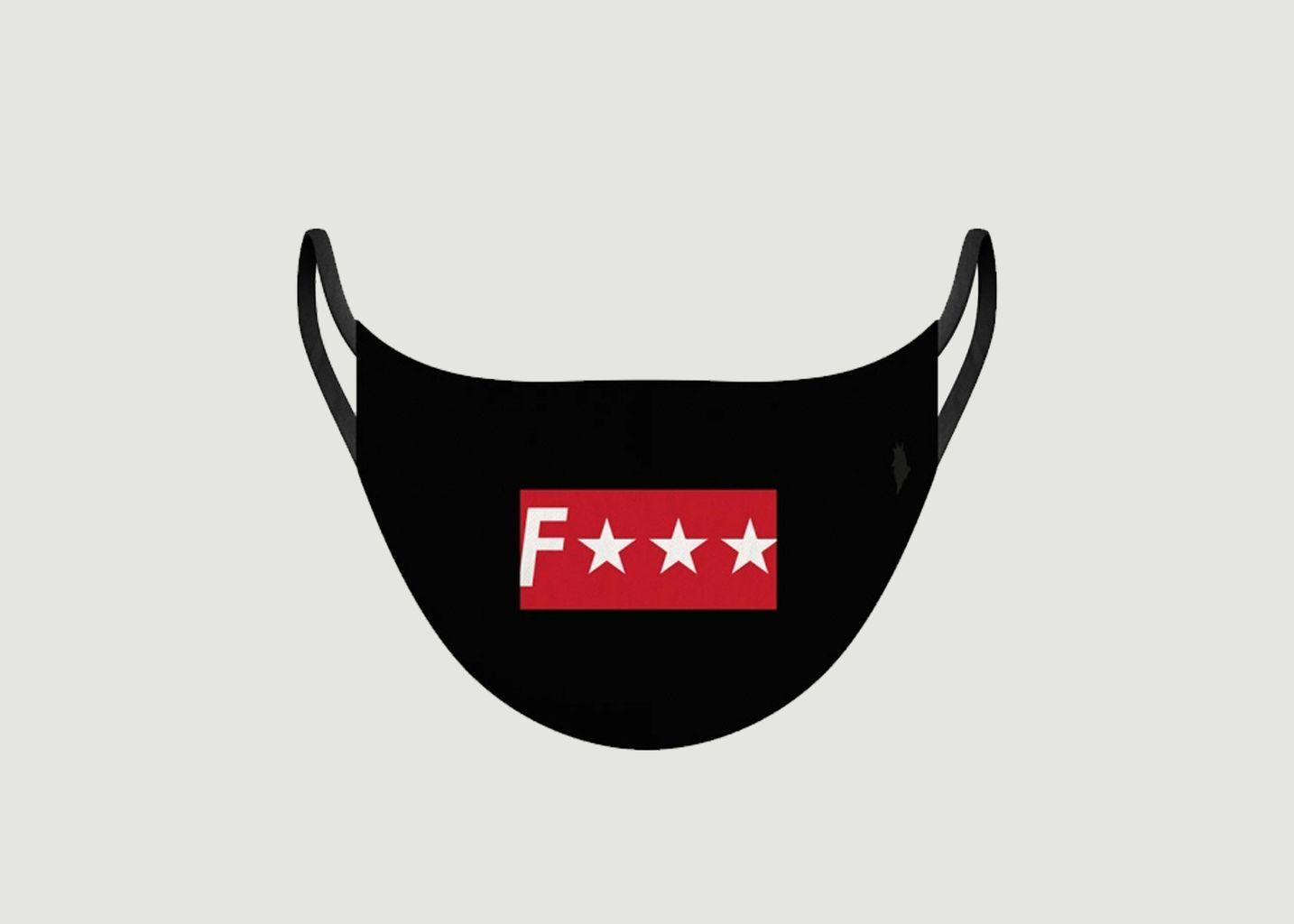 Masque en tissu F*** - Pôdevache