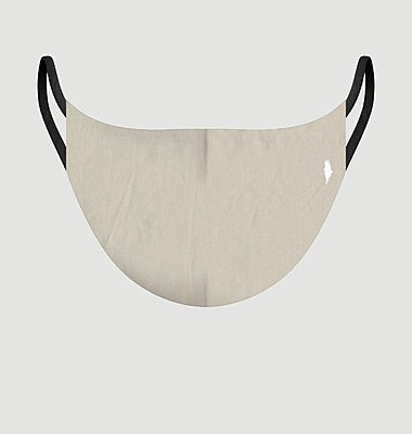 Les Unis Beige fabric mask