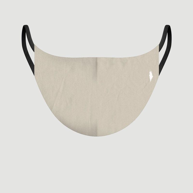 Masque en tissu Les Unis Beige - Pôdevache