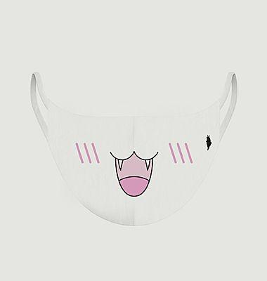 Masque enfant en tissu motif animal