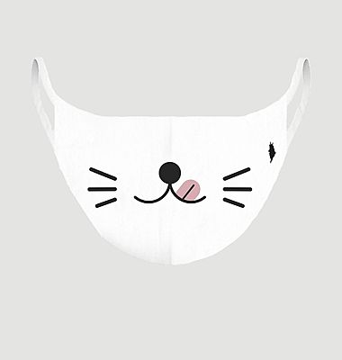 Kawai Cat fabric child mask