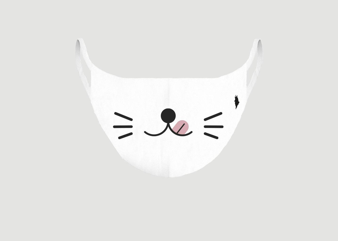 Masque enfant en tissu Kawai Cat - Pôdevache