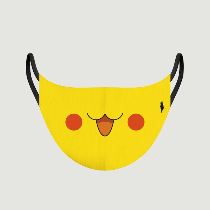 Masque enfant en tissu motif Pikachu - Pôdevache