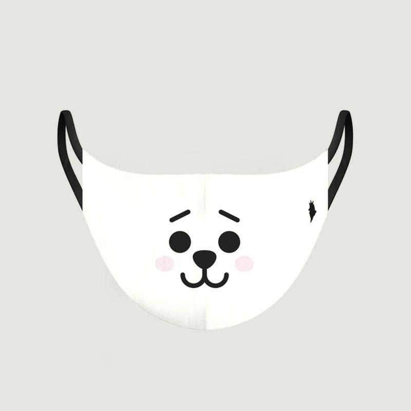 Masque enfant en tissu motif panda - Pôdevache