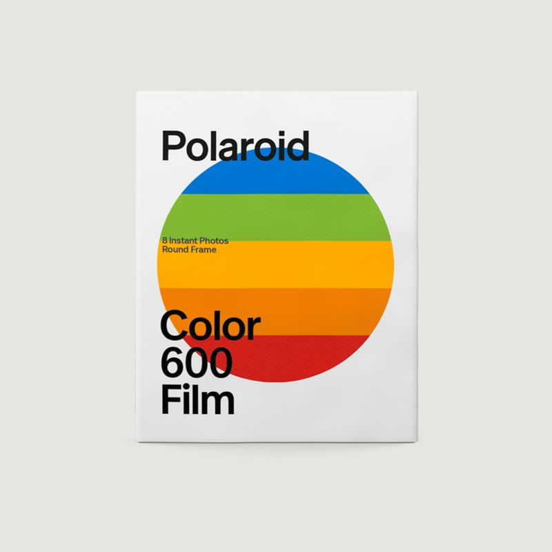 Papier photo instantané Polaroid Color film for 600 Round Frame - Polaroid Originals