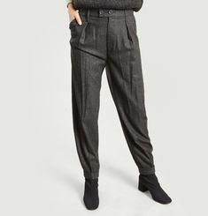 Théo Flannel Trousers