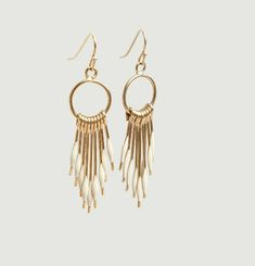 Tassel Pendant Earrings