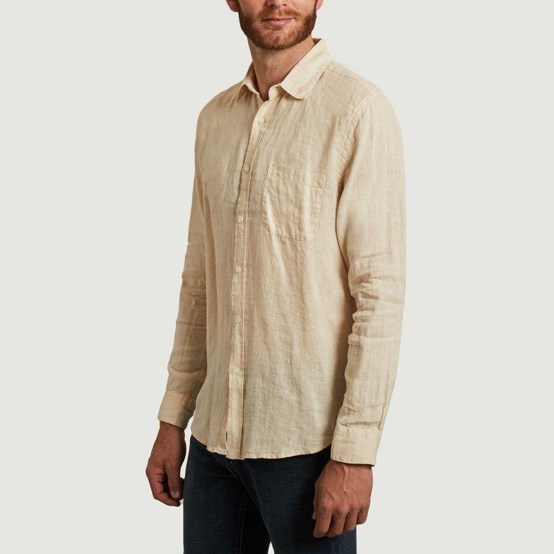 Chemise lin manche longue - Portuguese Flannel