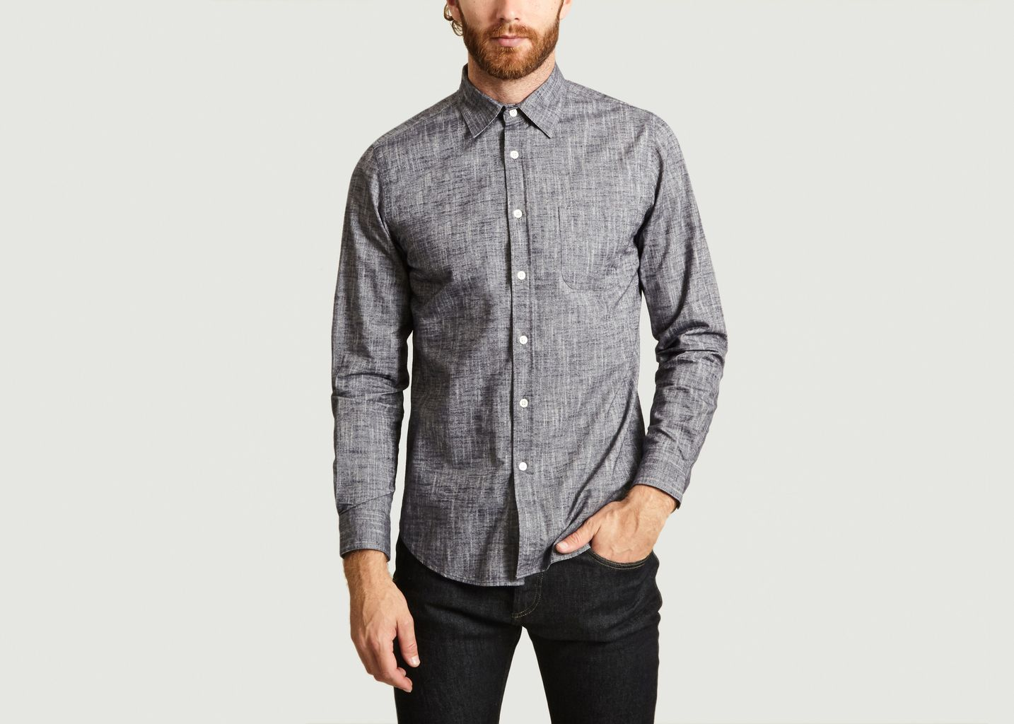 Chemise Fluffy Chambray - Portuguese Flannel