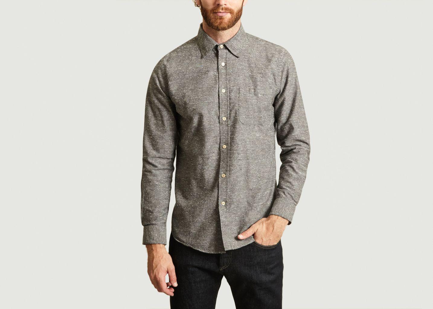 Chemise En Coton Chiné Gross - Portuguese Flannel