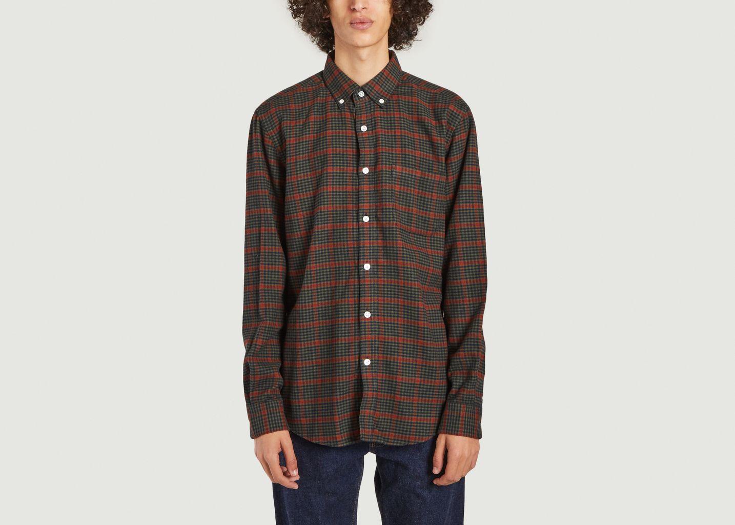 Chemise en flanelle à carreaux Coimbra - Portuguese Flannel