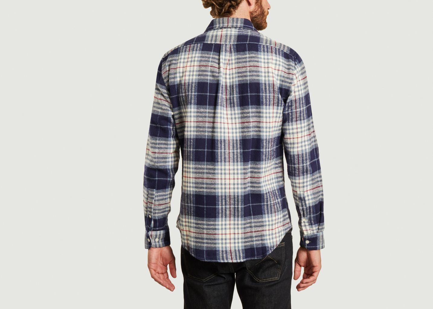 Chemise en flanelle à carreaux Bleeckers - Portuguese Flannel