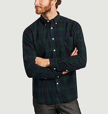 Chemise en flanelle à carreaux Bonfim
