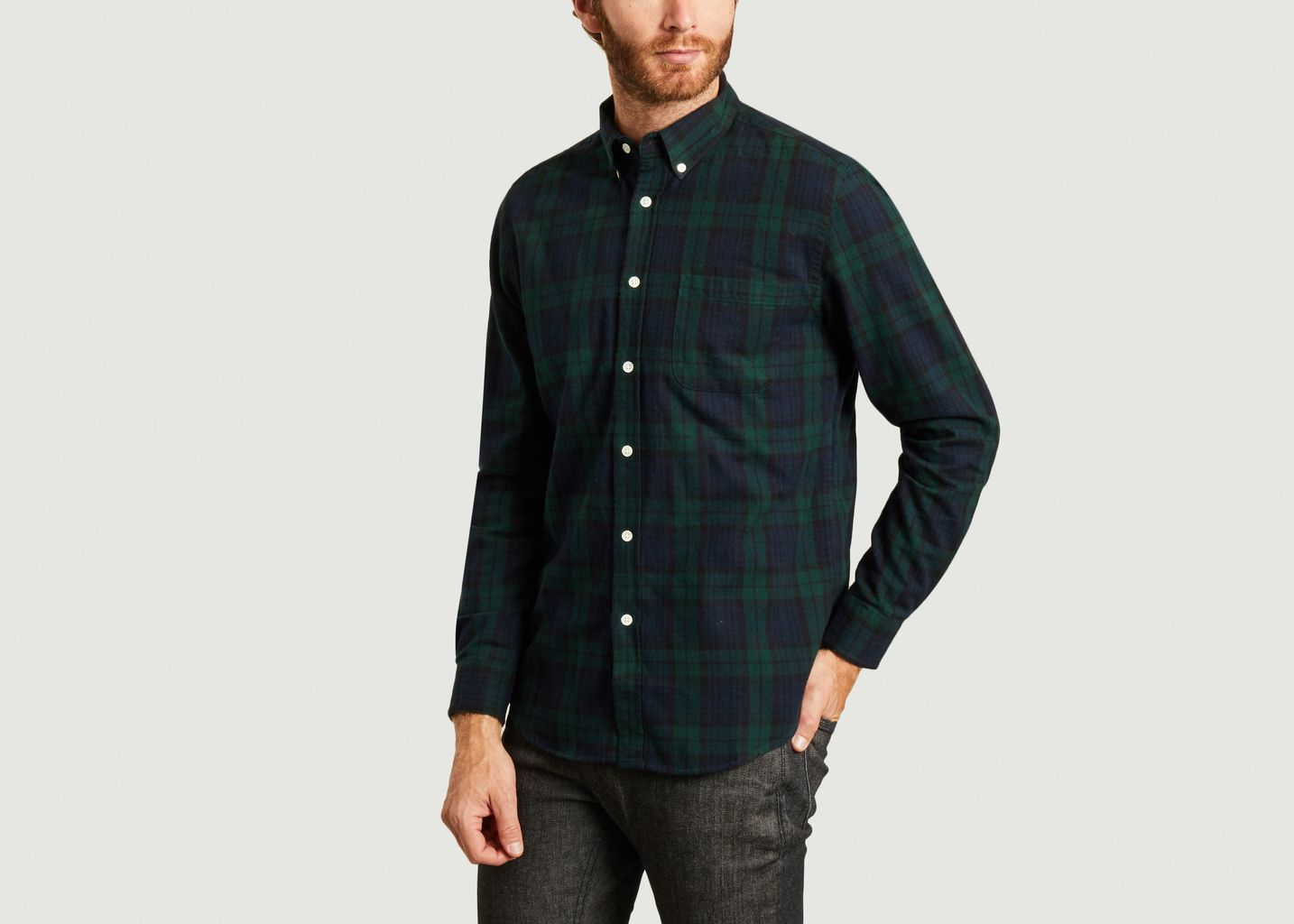Chemise en flanelle à carreaux Bonfim - Portuguese Flannel