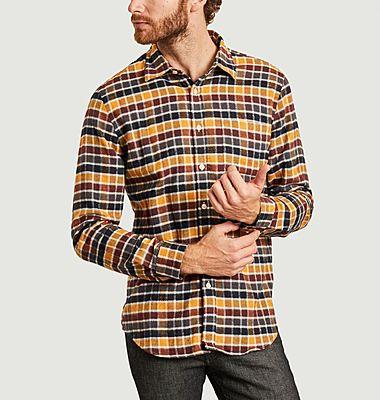 Chemise en flanelle à carreaux Autumn Shades