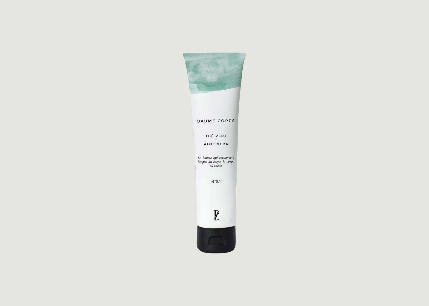 Baume Corps Thé Vert + Aloe Vera - Prescription Lab
