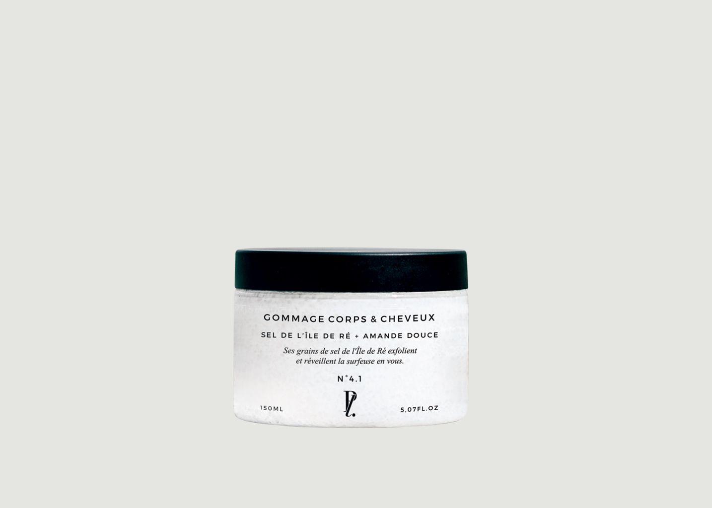 Gommage Corps & Cheveux au sel de l'île de Ré + Amande douce - 150ml - Prescription Lab
