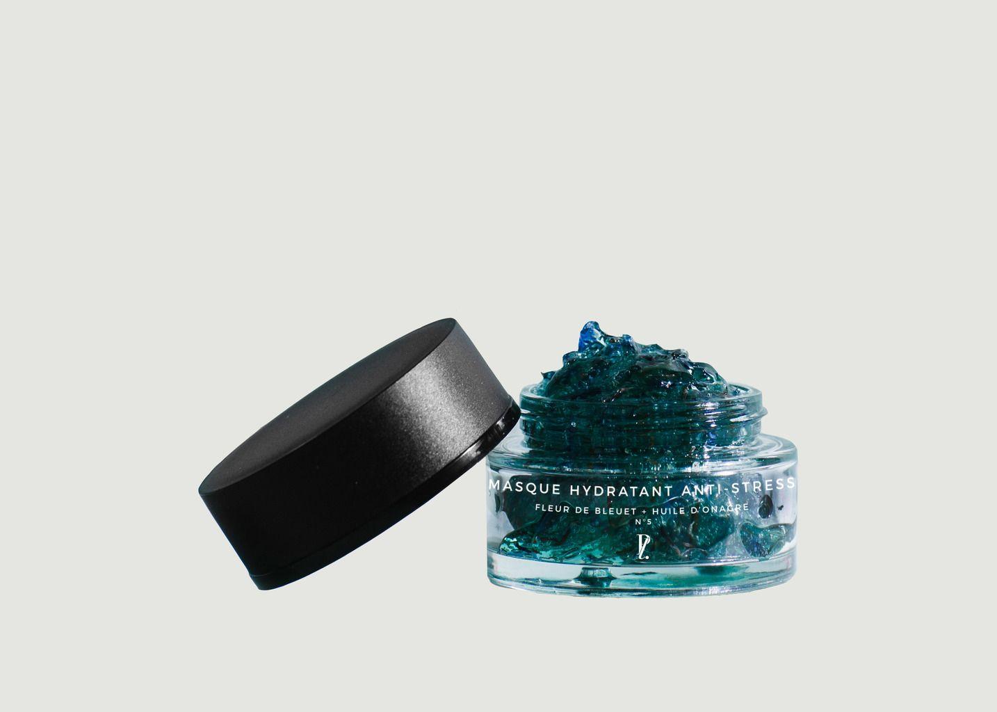 Masque Hydratant Anti-stress Fleur de Bleuet + Huile d'Onagre - Prescription Lab