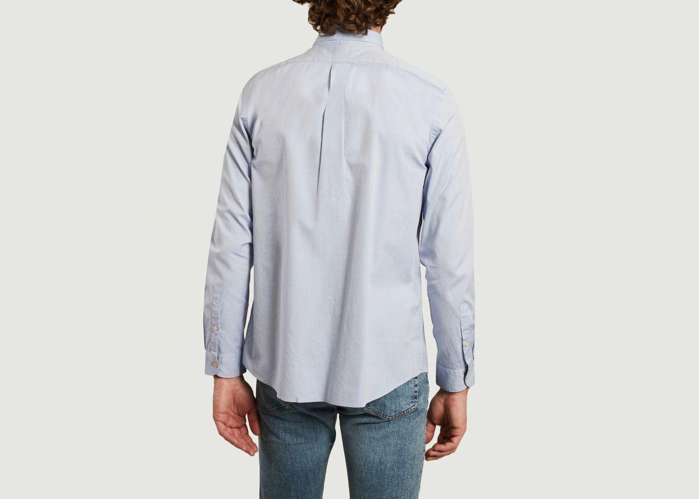 Chemise en coton biologique avec poche contrastée  - PS by PAUL SMITH