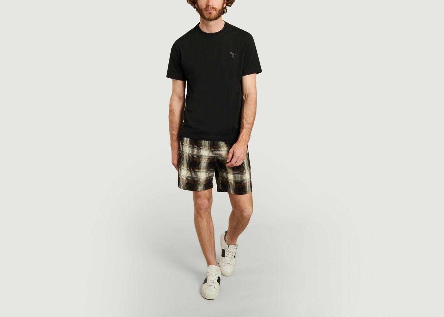 T-shirt zèbre en coton biologique  - PS by PAUL SMITH