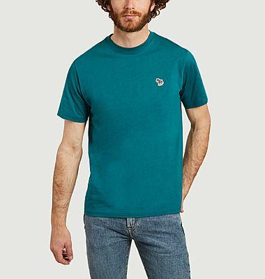 T-shirt zèbre en coton biologique