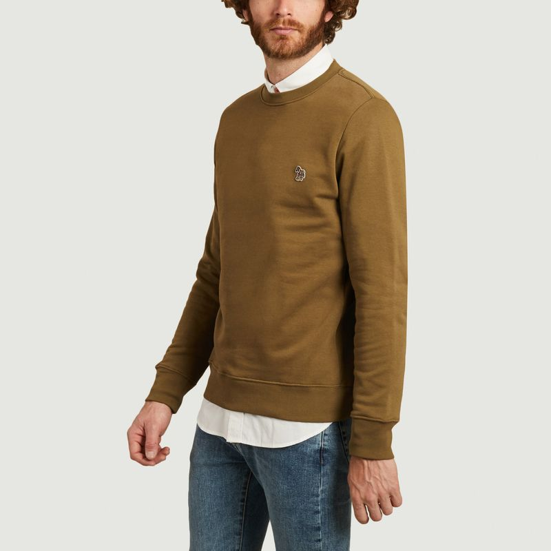 Sweatshirt zèbre en coton biologique - PS by PAUL SMITH