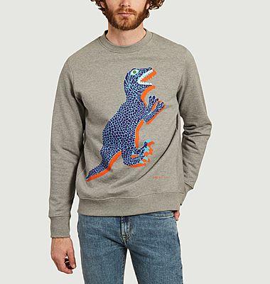 Sweatshirt grand dinosaure