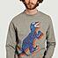 matière Sweatshirt grand dinosaure  - PS by PAUL SMITH