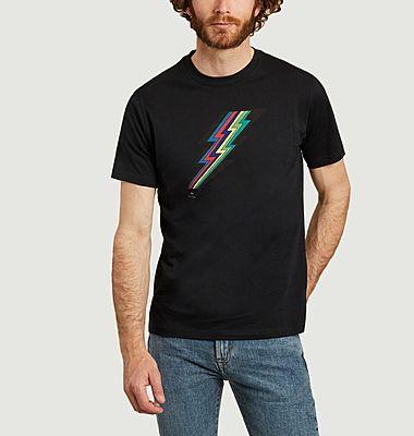 T-shirt éclair en coton biologique