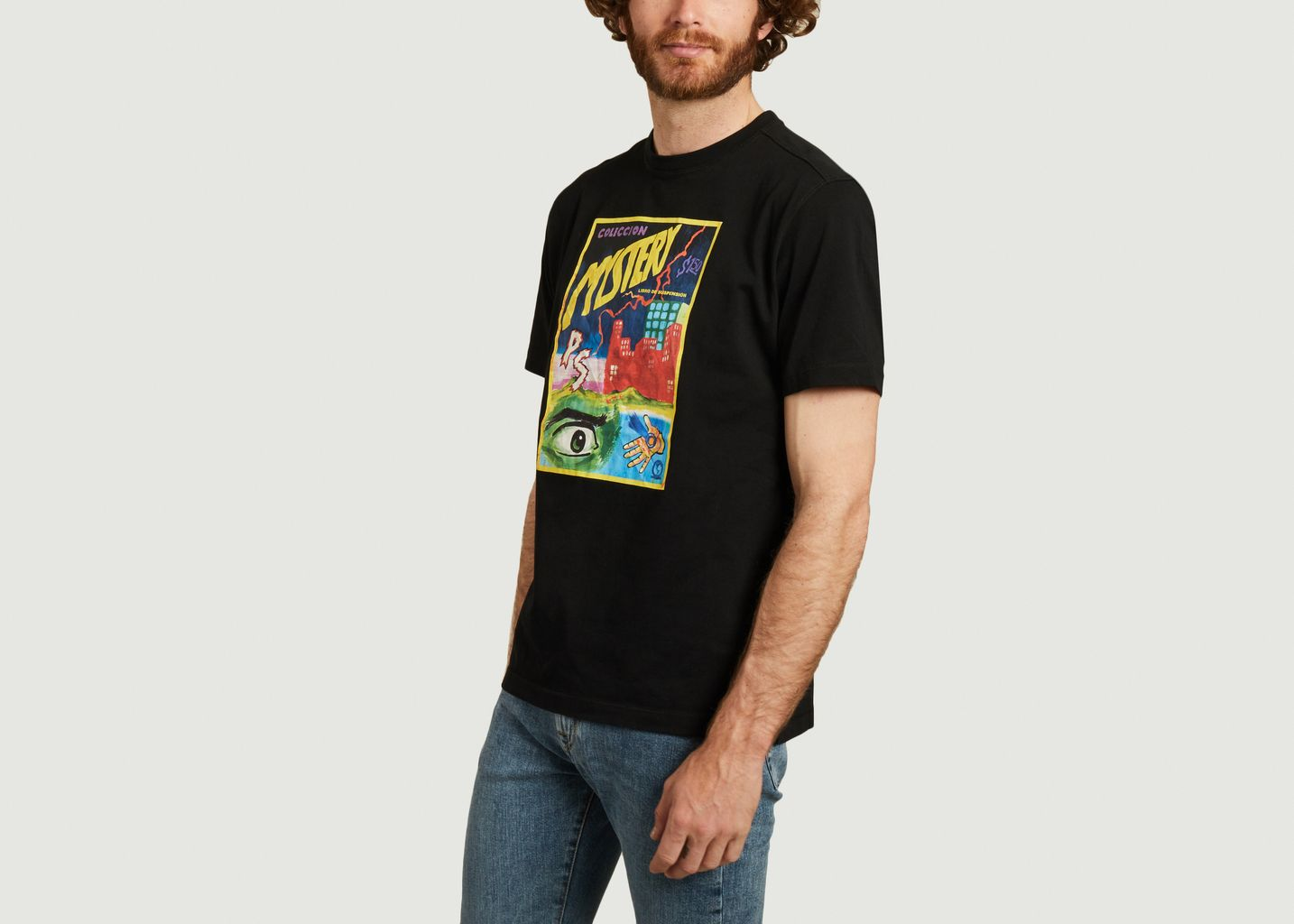 T-shirt Mystery en coton biologique - PS by PAUL SMITH