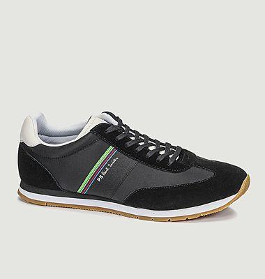 Sneakers de running en cuir et tissu Prince