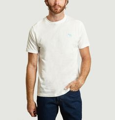 T-shirt Brodé Zèbre