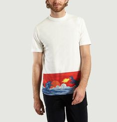 T-shirt Scène Dino