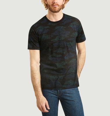 T-Shirt A Motif Fantaisie En Coton Bio