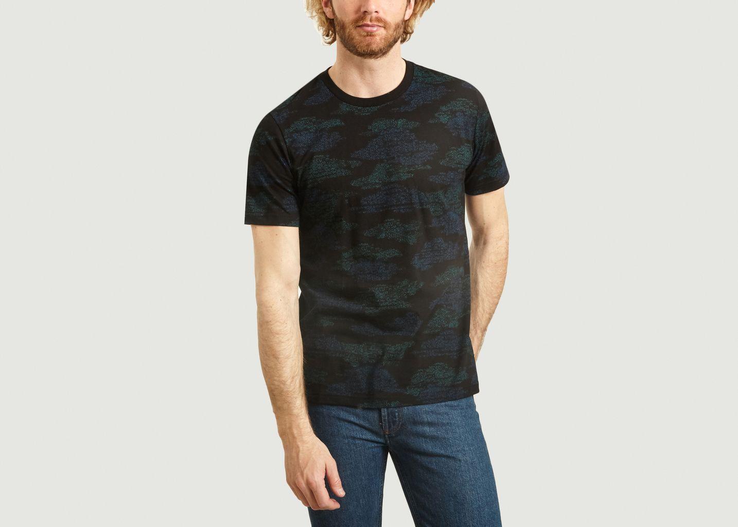 T-Shirt A Motif Fantaisie En Coton Bio - PS by PAUL SMITH