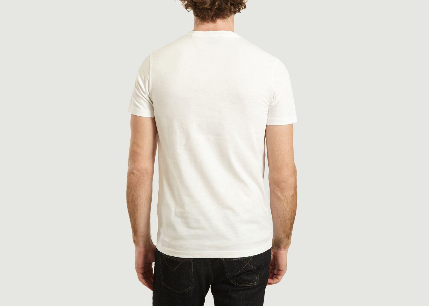 T-Shirt Print Singe Slim Fit En Coton Bio - PS by PAUL SMITH