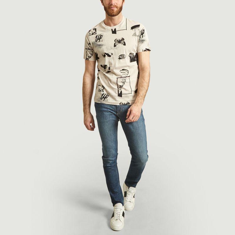 T-Shirt Imprimé En Coton - PS by PAUL SMITH