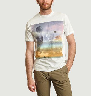 T-shirt imprimé Utopia