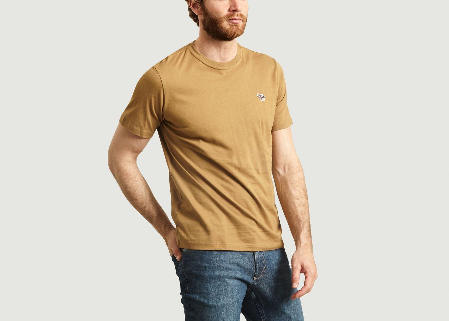 T-Shirt En Coton Bio Avec Patch Zèbre - PS by PAUL SMITH