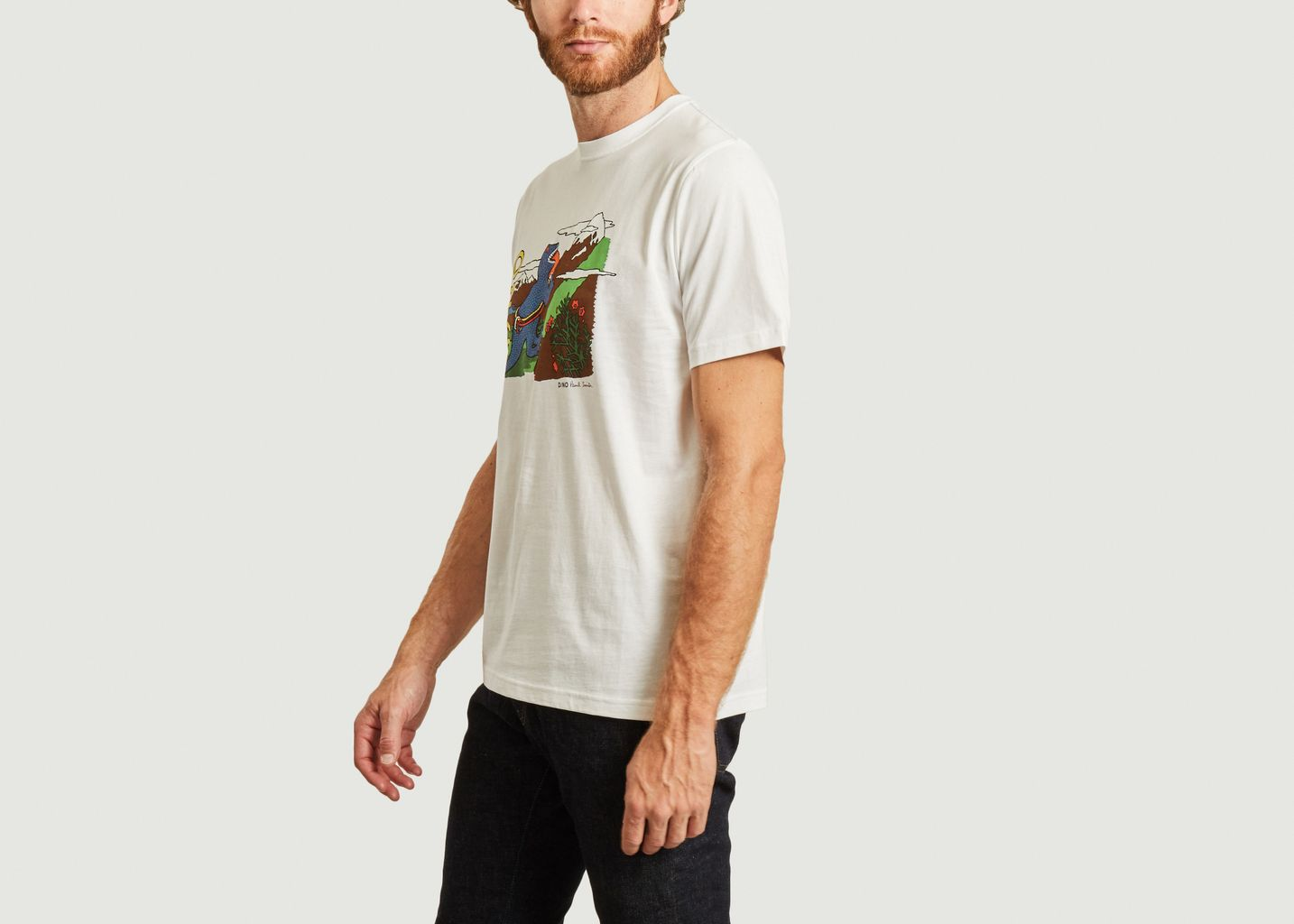 T-shirt imprimé Dino  - PS by PAUL SMITH