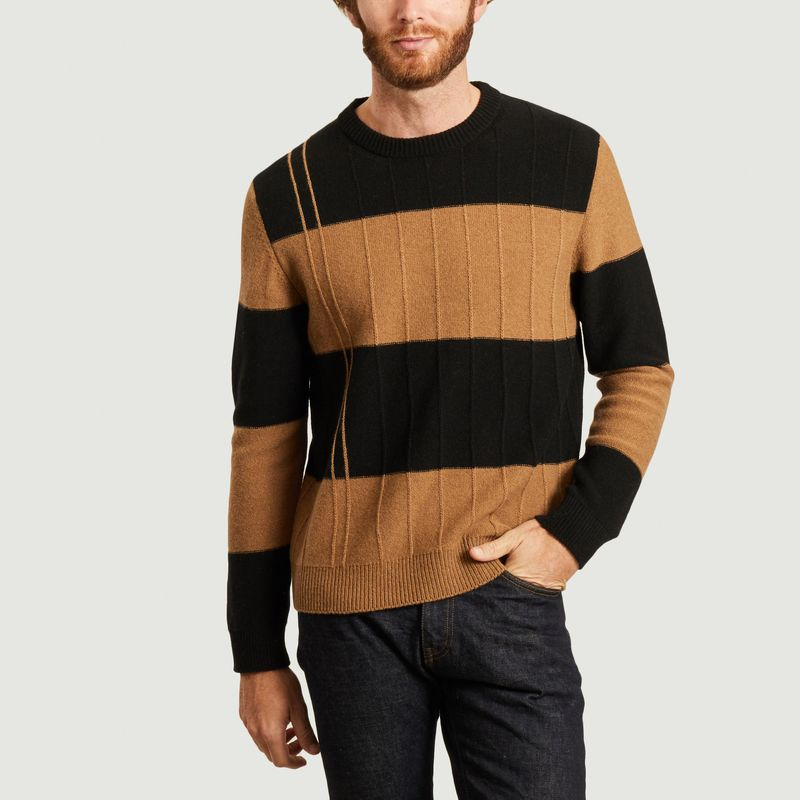 Pull col rond rayé - PS by PAUL SMITH