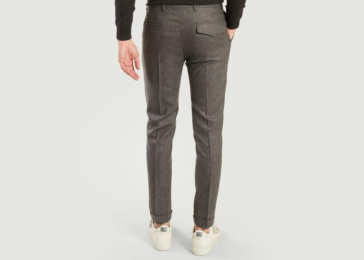 Pantalon formel à plis en laine - PS by PAUL SMITH