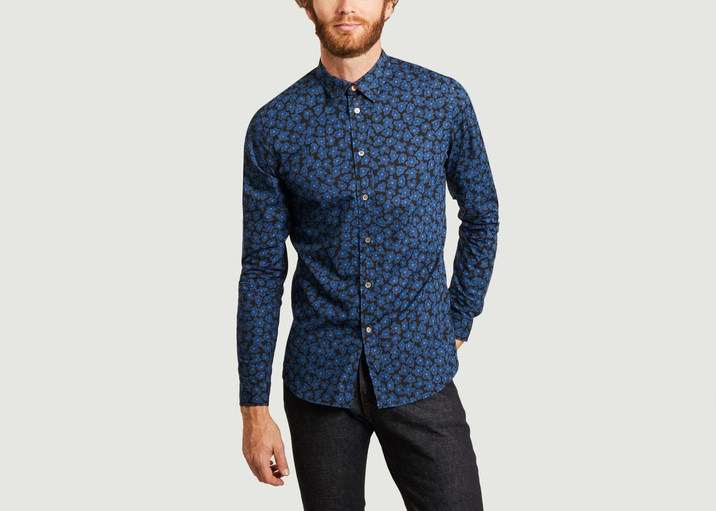 Chemise fleurie - PS by PAUL SMITH