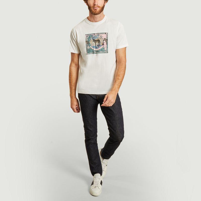 T-shirt zebra graphique  - PS by PAUL SMITH