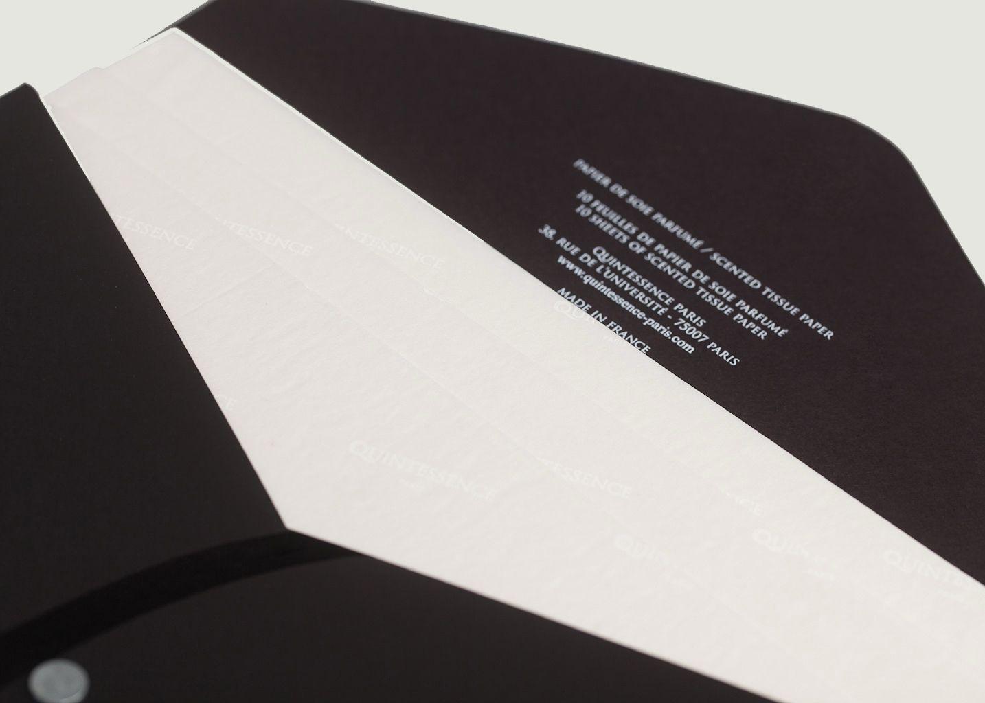 Papier de soie parfumé Belle d'Estrée - Quintessence