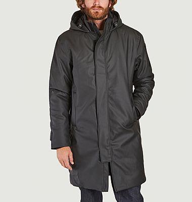 Glacial mid-length hooded parka
