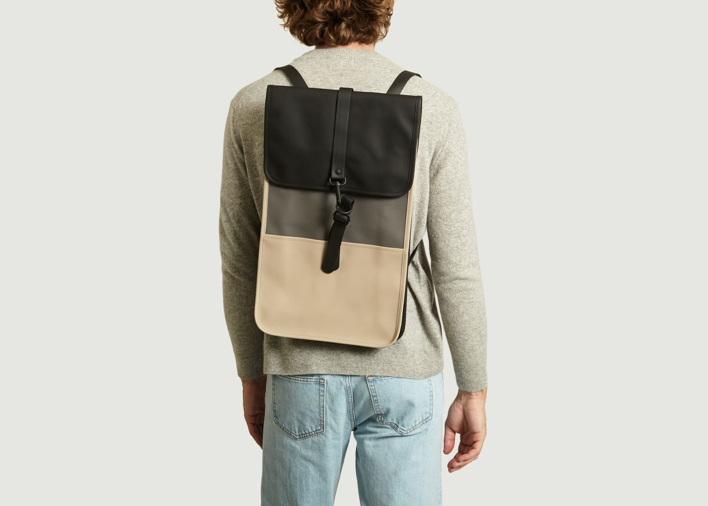 Color Block Backpack - Rains