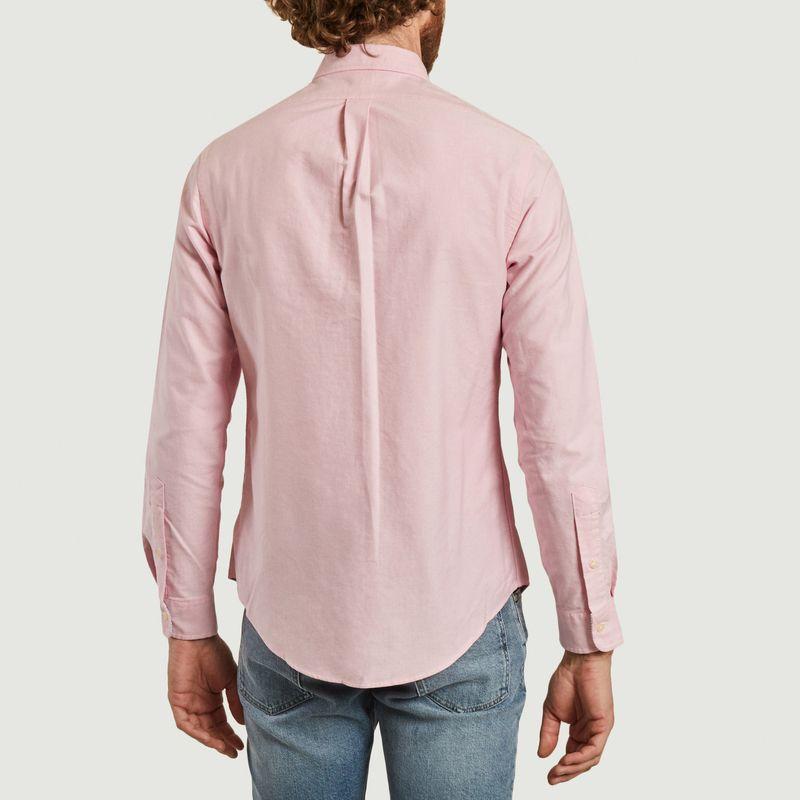 Chemise ajustée siglée en coton Oxford - Polo Ralph Lauren