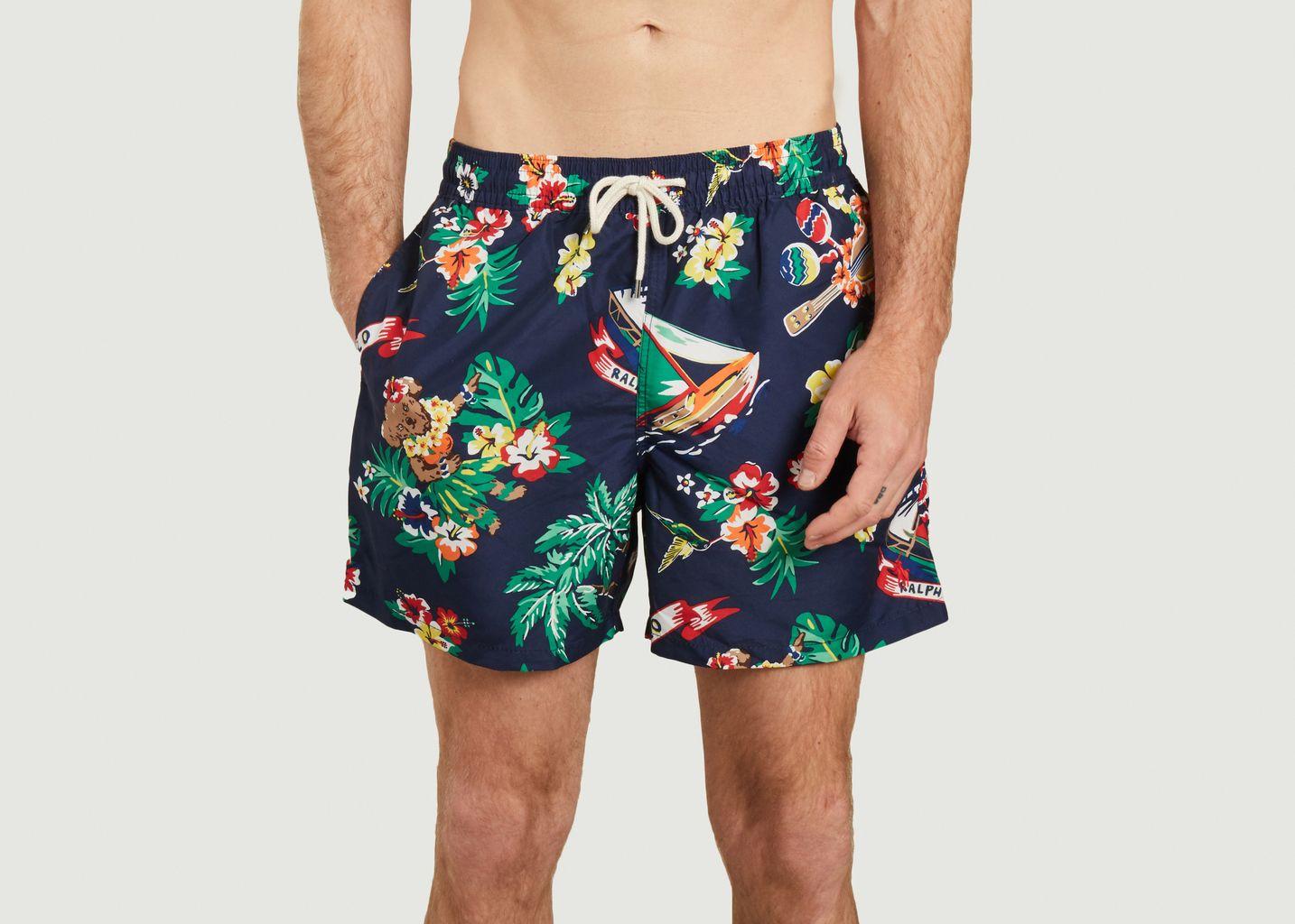 Short de bain recyclé imprimé tropical - Polo Ralph Lauren
