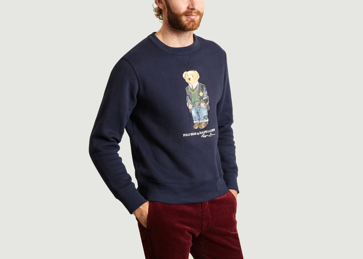 Sweat Floqué Bear - Polo Ralph Lauren